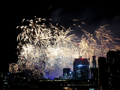 London New Year Fireworks 2018 (Dr Chester Chu) Tags: firework london 2018 nye new year eve