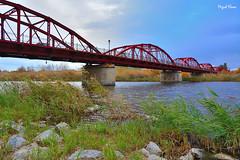 Puente Reina Sofia (J.MIGUEL FLORES) Tags: puente reinasofia talavera hierro rojo miguelflores
