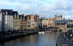 Gant_DSC_4605_001_Gant (gilmartinmiquel) Tags: gant gent gante gand monumental arquitectura belgium bélgica ciutat ciudad city turisme turismo canal