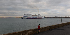 DSC_2009-1 (John.Walton) Tags: portsmouth portsmouthsouthsea cityofportsmouth hants hampshire england uk brittanyferries montstmichel roro ferry caen france northernfrance brittany departing