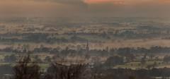 A Misty early evening view (ukmjk) Tags: staffordshire cheshire nikon nikkor d500 300mm f4 pf asbury ist church