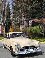 Cadillac sedan (D70) Tags: 1948 1951 era oakridge easter car show april 24 2011 cadillac sedan vintageplates bc canada
