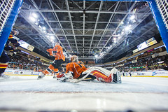"""Kansas City Mavericks vs. Colorado Eagles, December 16, 2017, Silverstein Eye Centers Arena, Independence, Missouri.  Photo: © John Howe / Howe Creative Photography, all rights reserved 2017. • <a style=""""font-size:0.8em;"""" href=""""http://www.flickr.com/photos/134016632@N02/27360163599/"""" target=""""_blank"""">View on Flickr</a>"""