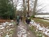 UK - Hertfordshire - Near Berkhamsted - Walking along footpath in snowy landscape (JulesFoto) Tags: uk england hertfordshire ramblers capitalwalkers berkhamsted walking snow