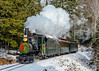 Gliding past Sutter's (kdmadore) Tags: wwf victorianchristmas maine 2foot railroad steamlocomotive train alna wwfry steam christmas wiscasset narrowgauge