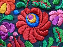 Extreme closeup_0123 (Steven Czitronyi) Tags: hungarian embroidery