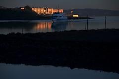 "The ""Marin"" Arrives (gcquinn) Tags: dusk ferry geoff geoffrey lowlight marin quinn sanfrancisco larkspur california usa"