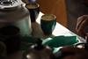 一服 (kusozako0813) Tags: steam light shadow tea hand indoor japan 和