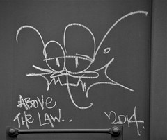 The Beaver 2014 (rabidscottsman) Tags: scotthendersonphotography thebeaver beaver graffiti railroadgraffiti moniker railroadmoniker rr railroad train ladder boxcar mn minnesota rosemountminnesota blackandwhite bw weekend fr8 benchingthefreights benching bench benched paintedsteel rollingart dakotacountyminnesota nikon nikond7100 d7100 tamron tamron18270 18270