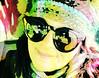 rainbow me (saudades1000) Tags: selfie rainbowselfie rainbow retrato autoretrato artistic
