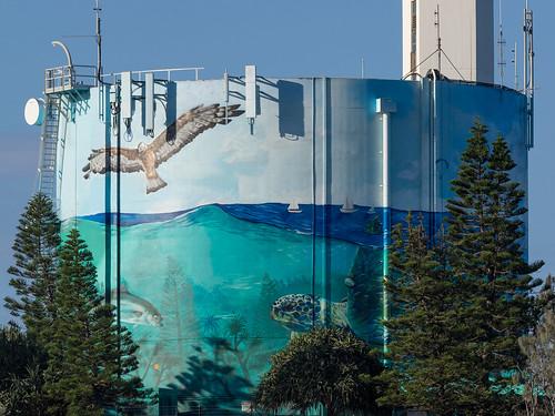 Water tank, Port Cartwright
