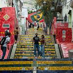 La scalinata Selaròn di Rio