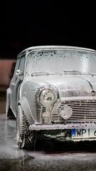Foamy (MKSpots) Tags: austin mini 1981 classic car spotting wash foam cannon