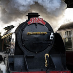 Santa Special on the Bluebell line thumbnail