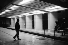 Shuttle Stop (emilschang) Tags: black white film filmphotography acros acros100 neopan fujifilm