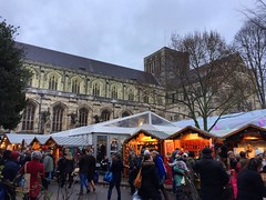 Winchester Christmas Market (Marc Sayce) Tags: cathedral market winchester hampshire xmas christmas winter december 2017