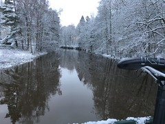 River Tidan in winterdress! (Göran Nyholm) Tags:
