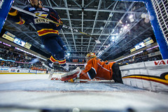 "Kansas City Mavericks vs. Colorado Eagles, December 17, 2017, Silverstein Eye Centers Arena, Independence, Missouri.  Photo: © John Howe / Howe Creative Photography, all rights reserved 2017. • <a style=""font-size:0.8em;"" href=""http://www.flickr.com/photos/134016632@N02/38255784465/"" target=""_blank"">View on Flickr</a>"