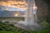 Seljalandsfoss, Iceland (www.clineriverphotography.com) Tags: iceland 2017 landscape waterfall waterfalls seljalandsfoss location sunrisesunset water light
