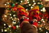 Week 50-52 (Home for the Holidays) 12-22-17 (MelenaMe) Tags: cozy christmas christmastree tree holidays socks mickeymouse lights bokeh relaxed relaxing resting comfort comfy home happyfeet happy