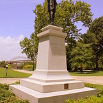 Jefferson Davis Statue (since removed) - Memphis, TN thumbnail