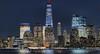 Manhattan Melody (chantsign) Tags: manhattan lights colors nightime newyorkcity worldtradecenter softlight tone