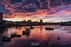 Fish Quay Sunset (robinta) Tags: sunset twilight landscape urban city cityscape colour colors sunderland riverwear ngc england sky clouds vibrant saturated boats longexposure harbour harbor marina pentax sigma1770 ks1 sigma pentaxart