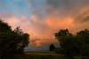 evening atmosphere (klaus.huppertz) Tags: frankenbach himmel sky landscape landschaft abend evening mood atmosphere wolke cloud sonnenuntergang sunset afterglow nikon nikond750 d750 zeiss distagon 15mm