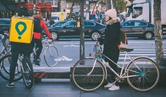 DSC01448 (Ed3m95) Tags: gril bycicle vélo paris france république people streetphotography sreet day walk