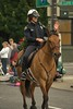 Grand Floral Parade (Scott 97006) Tags: police mounted parade horse policewoman wave