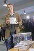 García Albiol votando en la jornada electoral del 21D