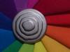 K3251 (Elisabeth patchwork) Tags: fabric rainbow patchwork button