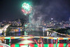 South Bank Brisbane Christmas fireworks (Lance # Australian photographer) Tags: colour waterfireworks brisbane southbank mycity reflections northpointview