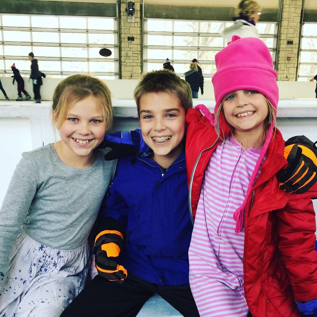 Ice skating 2017