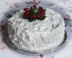 Christmas Cake (linda.addis) Tags: flickrlounge saturdaytheme treat inthekitchen odc ourdailychallenge