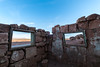Desert views (Picardo2009) Tags: arizona cliffdwellers stonehouse usa choza hut travel desert hiking trekking windows views oldhouse abandoned dusk sunset landscape picoftheday outdoors