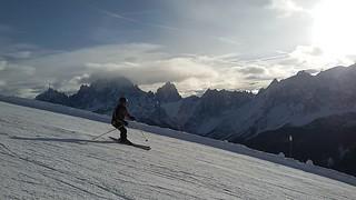 22.12.2017 Sextner Dolomiten / Dolomiti di Sesto mit/con Manuel