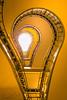 La bombilla (A.Coleto) Tags: escalera stairs bombilla light bulb praga prague republica checa house black madonna canon alvaro coleto