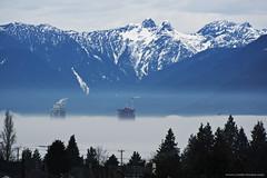 Morning fog (Zorro1968) Tags: morning fog explorebc photos604 beautifulbc celebarteburnaby pacificnorthwest weather insidvancouver vancouverisawesome myportcity mountains