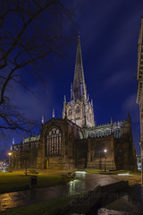 _IMG4975  All Saints Church, also known as Rotherham Minster (Pete.L .Hawkins Photography) Tags: hd pentaxd fa 1530mm f28 ed sdm wr petelhawkinsblueyondercouk petehawkinsphotographycom rotherham by night