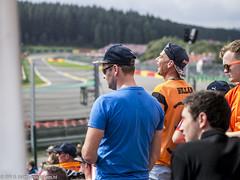 2017 Belgian GP: Verstappen fans (8w6thgear) Tags: 2017 belgiangp spa spafrancorchamps pouhon spectators fans maxverstappen