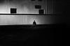 dark soul (gguillaumee) Tags: film analog grain casablanca morocco maroc man lonely alone port street streetphotography wall remote leicam7 summicron50mm kodaktrix 1600iso pushedfilm dark dramatic
