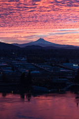 Mt hood sunrise (RaminN) Tags: mthood portland oregon sky clouds sunrise