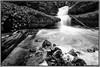 ÄTTIGRABE (adrianstadelmann) Tags: waterfall water bach noiretblanc suedranden wangental astpic