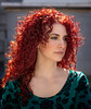 Danielle (QuarryClimber) Tags: outdoorportrait naturallight redhead greeneyes curlyhair face city urban canon5ds canon85mm manchesternewhampshire