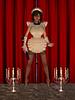 MAID03 FRONT (bigbertha666) Tags: doll mask corset fetish masked face maid sissy poser spielzeug sextoys bodyjewellery lack plastic satin pvc rubber bondage gloves fetishfashion