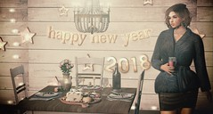 Happy New Year (Luane Meo) Tags: kibdesign projectse7ev avaway thetrunkshow tram alme catwa maitreya larahurley ikon sways serenitystyle dustbunny kunst ariskeafaedreams luanesworld lwposes bento treschic