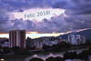 Happy New Year! (Otacílio Rodrigues) Tags: cidade céu pôrdosol nuvens clouds rio river água reflexos reflections pontes bridges prédios buildings árvores trees montanhas mountains resende brasil oro feliz2018 happynewyear greetings urban