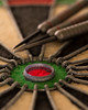 Thats a Bullseye (darrenball189) Tags: sport board target game center dartboard dart arrow play leisure circle point isolated red bullseye concept closeup black white hit entertainment circular fun focus darts green nobody bull color darting texture pub