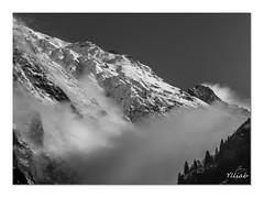 Aiguille du Plat de la Selle (Ylliab Photo) Tags: alpes art artiste artistephotographique ylliabphoto ylliab mountain montagne lepaysagesimplement landscape lumiere nb blackwhite